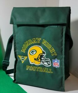 vintage Monday night Football Green Bay Packers ABC Sports Insulated  Lunch bag