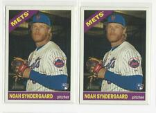 2015 Topps Heritage High Number #618 Noah Syndergaard RC LOT OF 2 -  Mets rookie