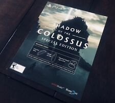 Shadow Of The Colossus PS4 Special Limited Edition DLC Slip (No Game) Sony Japan