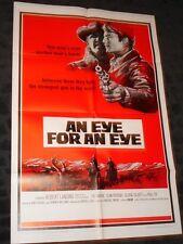 An Eye for an Eye folded movie poster - Western filmPat Wayne Slim Pickins