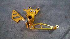 Honda CBR 900 RR Fireblade CBR929 - Right Foot Peg Rest Rearset - Anodised Gold