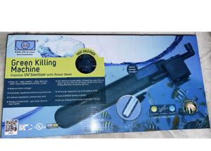 AA Aquarium Green-Killing Machine Internal UV Sterilizer fish tank up 120 gallon