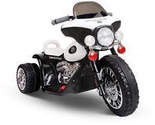 Kids Ride on Motorbike Black and White