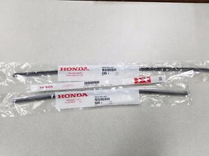 NEW GENUINE HONDA ODYSSEY WIPER REFILL SET 2011 TO 2013 FOR FACTORY BLADES