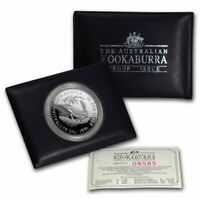 1991 KOOKABURRA PROOF SILVER Coin in Wallet
