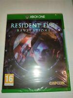 resident evil re rev revelations  xbox one neuf sous blister FR