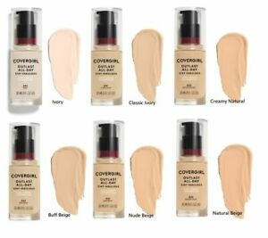 Covergirl OUTLAST 3 in 1 Foundation. All Day Flawless Coverage. SPF 20.