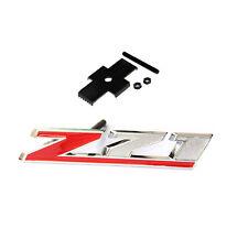 Red GENUINE Grille Z71 Emblem for GM Chevrolet Silverado Sierra Tahoe UW 1New