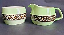 Vintage Carlton Ware Milk Jug & Sugar Bowl, Numbers 2742 & 2754