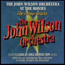 JOHN WILSON ORCHESTRA AT THE MOVIES THE BONUS TRACKS SOUNDTRACK CD NEW