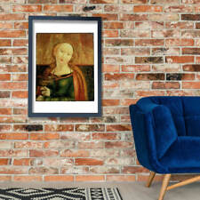 Matthias Grunewald - Tafel-Heilige Dorothea Wall Art Poster Print