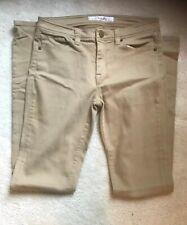 Women's Uniqlo brown skinny fit jeans waist 30