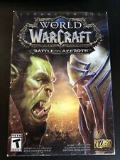 Pc World of Warcraft Battle for Azeroth (Pc, 2018) *Free Shipping*