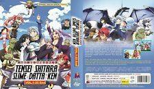 ANIME DVD~ENGLISH DUBBED~Tensei Shitara Slime Datta Ken(1-25End)FREE SHIP+GIFT
