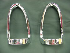 1955 Chevrolet NEW Tail Light Bezel Set 2nds or Blems Driver Plus Quality