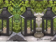 "10 small black 9"" malta Candle holder Lantern light wedding table centerpieces"