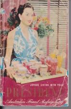 PRESIDENT , AUSTRALIA'S FINEST REFRIGERATOR BOOKLET , circa 1950's