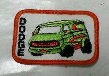 VINTAGE DODGE VAN Iron or Sew-On Patch