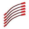 JST 2Pin 30cm Verlängerung Kabel Stecker Buchse 20AWG LED Lipo Akku 1 2 4 5 10