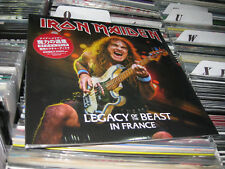 IRON MAIDEN  PICTURE DISC DOUBLE  LEGACY OF THE BEAST IN FRANCE