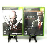Hitman Bundle 2 Game Lot Contracts + Blood Money Microsoft Xbox Complete Eidos