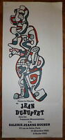 Jean Dubuffet Affiche Lithographie Art Abstrait Art Brut New York abstraction