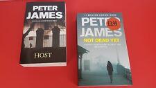 ~~2X PETER JAMES BOOKS  NOT DEAD YET & HOST