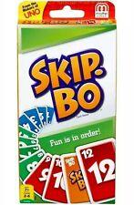SKIP BO Card Game--BRAND NEW