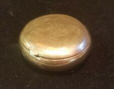 Vintage Cartier Pill Box 14k Gold, Engraved, 20.4 grams