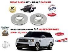 para Range Deporte de Rover 5.0 SUPER 2009-2013 Juego Nuevo freno disco