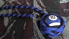 "Boule Billard N°10 ø52 mm Lanyard ""Self Defense/Survie"""