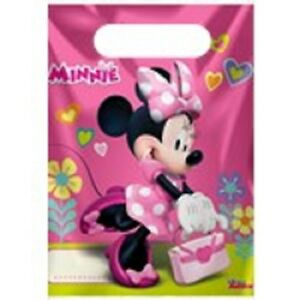 DISNEY'S MINNIE MOUSE PARTY BAGS PACK OF 10