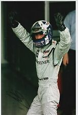 David Coulthard Mano Firmata West McLaren Mercedes F1 12x8 FOTO 4.