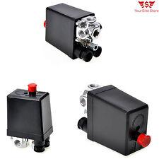 Switch Control Air Pressure Valve Compressor 90-120 PSI 240V Four Inlet Ports