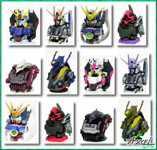 Gundam Head III Figure Set of 12 Qubeley GABTHLEY  Wing RICK DOM
