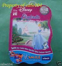 V.SMILE~VTECH~CINDERELLA Magic Wishes Game~6-8 yrs~NEW~Shelf wear/tear Packaging