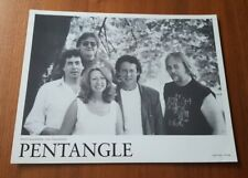 Pentangle (Folk group) original record company promo photo, 26x20cm