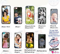 Custom Personalize Photo Picture Phone Cover Case For iPhone Samsung Google LG