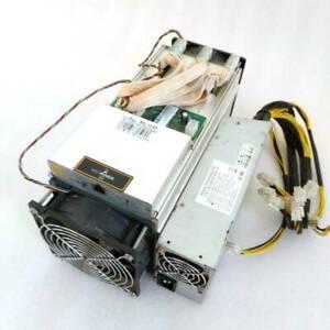 AntMiner S9 13.5T Bitcoin Miner ASIC BTC Bitmain Miner Machine + Power Supply