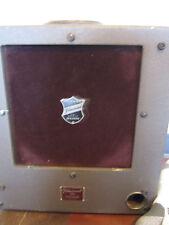 """Vtg Bell & Howell 25 Watt 12"""" Speaker Amp Cabinet for Projector Filmosound 179"""