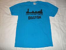 Gildan Custom Ink Emmanuel College Boston Men's T-Shirt Size M Senior Week 2012