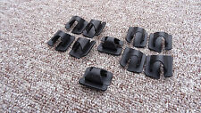 FORD BONNET INSULATION RETAINER CLIPS FOR HOOD SOUND DEADENER 10PCS