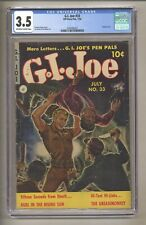 G.I. Joe 33 (CGC 3.5) OW/W Pages; Clarence Doore 1954 Ziff-Davis Comics (j# 061)