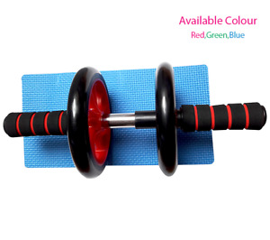 Abdominal Abs  Exercise Wheel Fitness Body Gym Strength Training Roller Machine