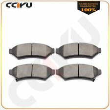 For 2005 2006 2007 Buick Allure LaCrosse Terraza Front Ceramic Discs Brake Pads