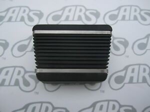 1965-1974 Buick Park Brake Pedal Cover with Stainless Steel Trim