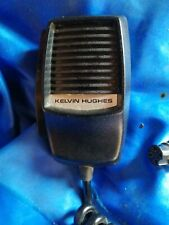 REPLACEMENT MIC FOR KELVIN HUGHES 55 MARINE VHF RADIO with extension lead