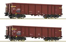 ROCO 76127 Set 2 Eaos FS Ep IV off Güterwagen Auf Wunsch Achstausch für Märklin