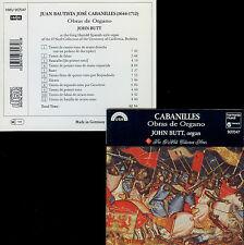 CABANILLES  obras de organo  JOHN BUTT