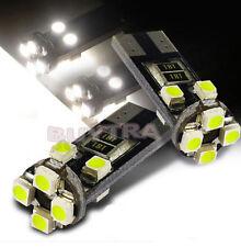 2X T10 8 LED SMD 3020 No Error Canbus LED White Lights Bulb Lamp EDZY